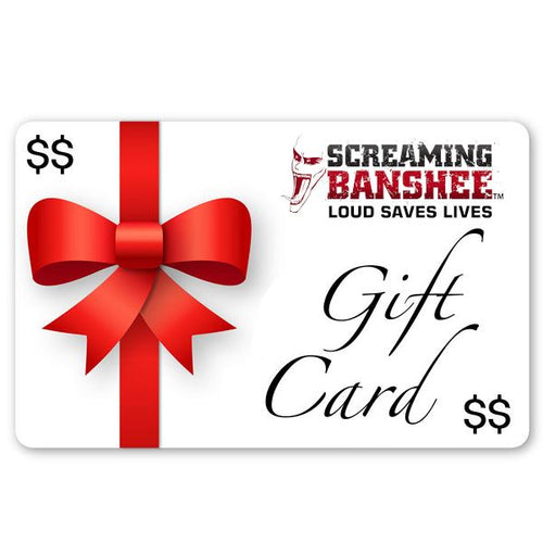 Screaming Banshee Gift Card - Screaming Banshee Horns