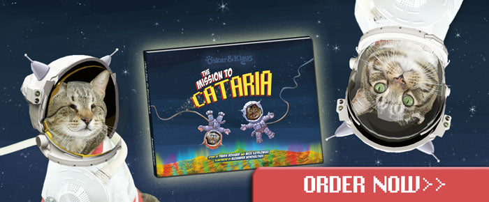 Order the Oskar & Klaus: The Mission to Cataria Book here