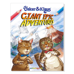 SOLD OUT Oskar & Klaus: Giant Epic Adventures Coloring Book