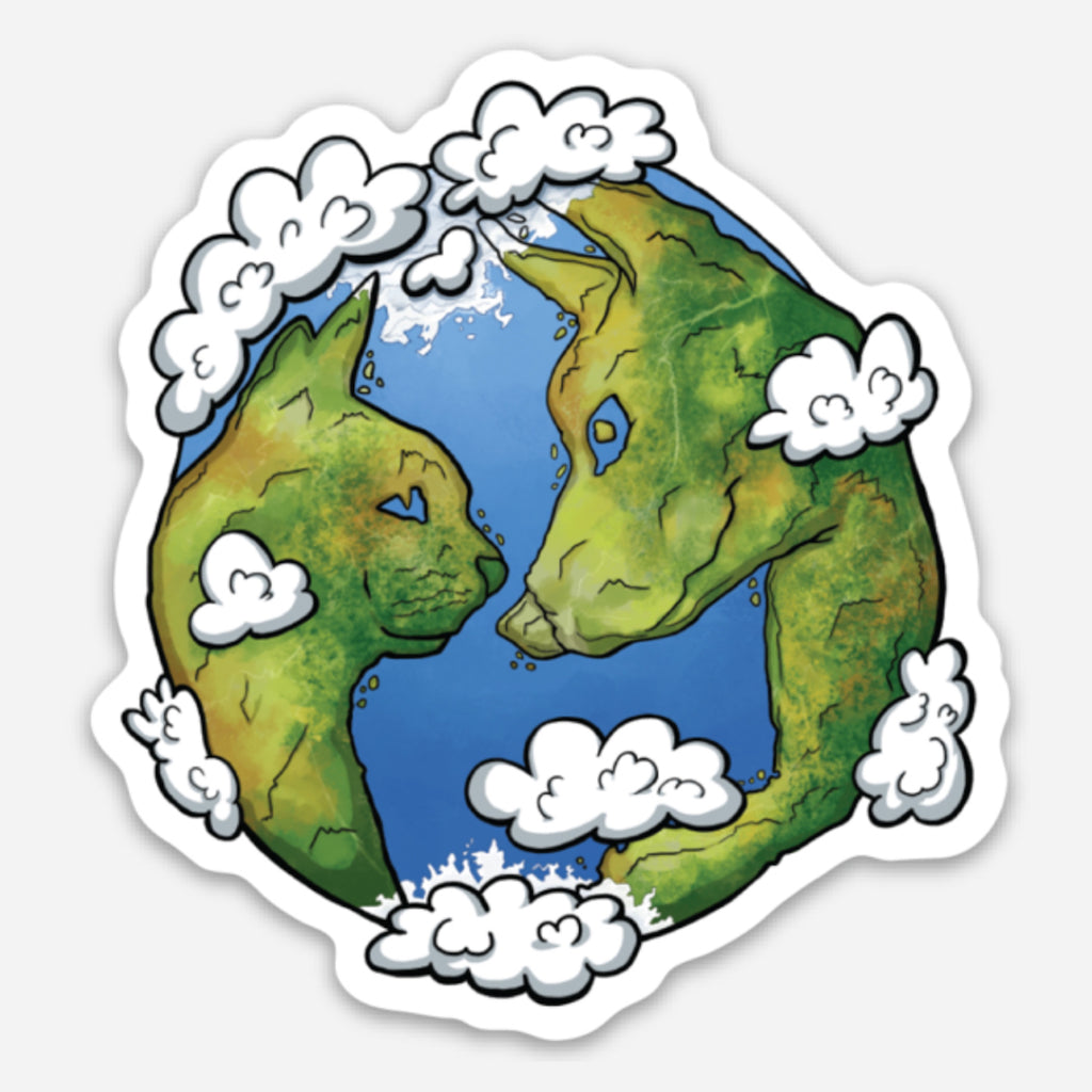 Planet Green Pet Magnet
