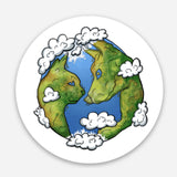 Planet Green Pet Sticker