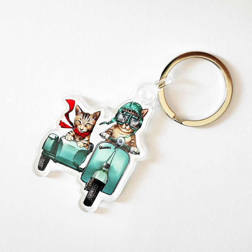 SOLD OUT Vespaw Acrylic Keychain