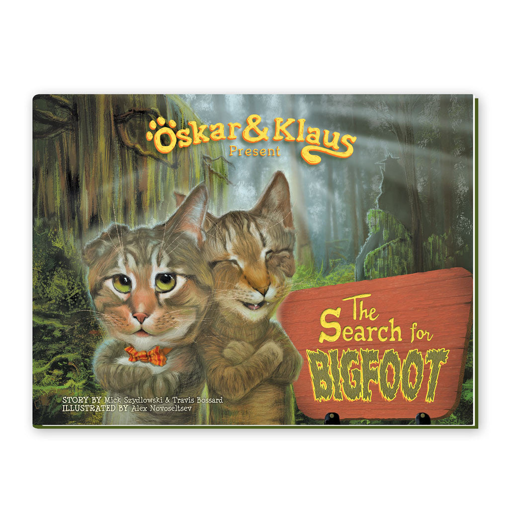 SALE! Oskar & Klaus: The Search for Bigfoot BOOK