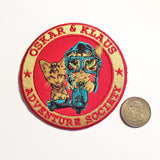 "Adventure Society 3.5"" Iron-on Patch"