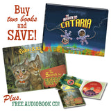 Oskar & Klaus Adventure Book Set - Bigfoot & Cataria Books