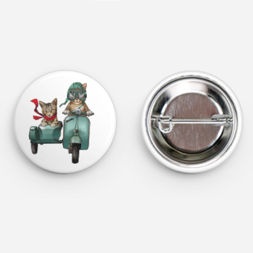 SOLD OUT Vespaw Button 1.25""