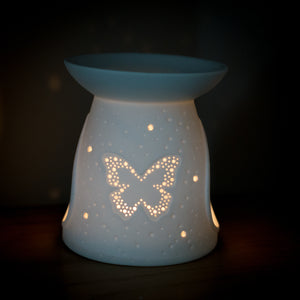 Butterfly Wax Burner - Luxury Gift Set - MadeWithaSmile