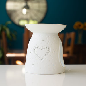 Heart Wax Melt Burner - MadeWithaSmile