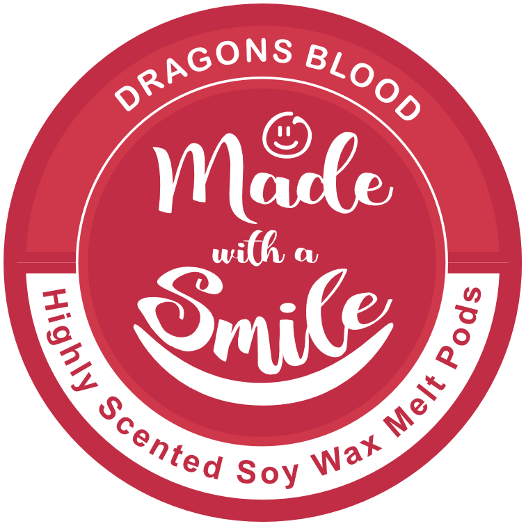 Dragons Blood Soy Wax Melt Pod | Madewithasmile | UK