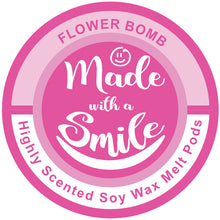 Load image into Gallery viewer, Flower Bomb Soy Wax Melt Pod | MadeWithaSmile | UK