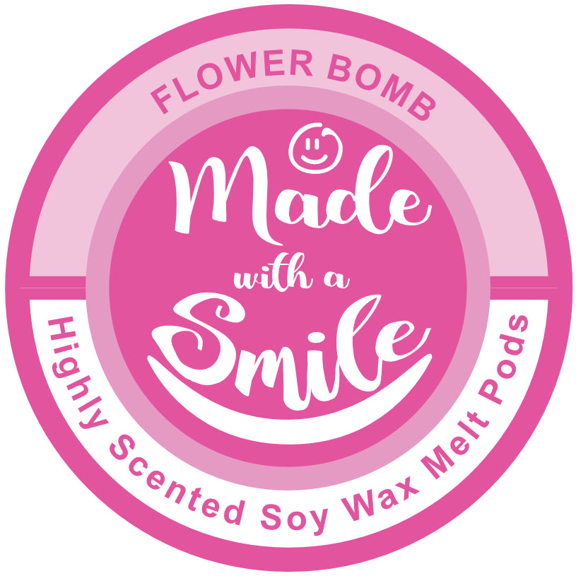 Flower Bomb Soy Wax Melt Pod | MadeWithaSmile | UK