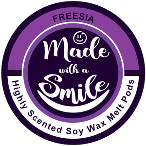 Freesia - Soy Wax Melt Pod | MadeWithaSmile | UK