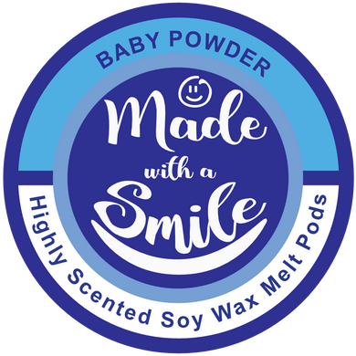 Baby Powder Soy Wax Melt Pod | MadeWithaSmile | UK