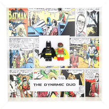 Load image into Gallery viewer, Batman & Robin Dynamic Duo DC Comics Boxed Frame | MadeWithaSmile