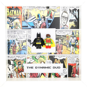 Batman & Robin Dynamic Duo DC Comics Boxed Frame | MadeWithaSmile