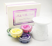 Load image into Gallery viewer, Butterfly Wax Burner - Luxury Gift Set - MadeWithaSmile