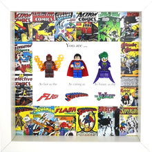 Load image into Gallery viewer, The Flash,  Superman & The Joker Superheroes Minifigures DC Comics | MadeWithaSmile