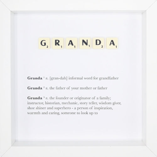 Granda - Definition - MadeWithaSmile