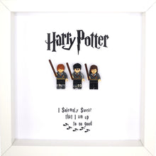 Load image into Gallery viewer, Harry Potter Lego Inspired Boxed Frame Picture | MadeWithaSmile