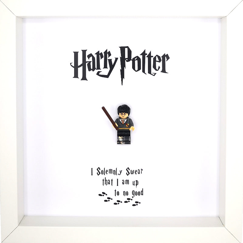 Harry Potter Lego Inspired Box Framed Picture | MadeWithaSmile