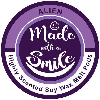 Alien Soy Wax Melt Pod | MadeWithaSmile | UK