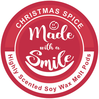 Christmas Spice Soy Wax Melt Pod | MadeWithaSmile | UK