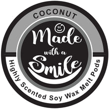Load image into Gallery viewer, Coconut Soy Wax Melt Pod | MadeWithaSmile | UK