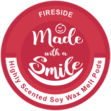 Load image into Gallery viewer, Fireside Soy Wax Melt Pod | MadeWithaSmile | UK
