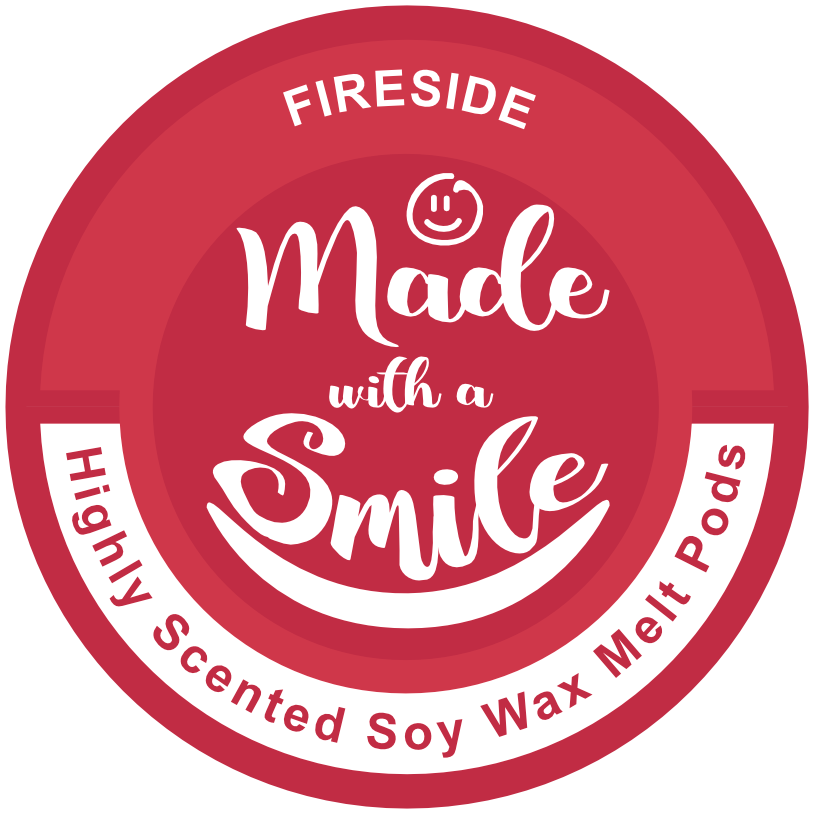 Fireside Soy Wax Melt Pod | MadeWithaSmile | UK