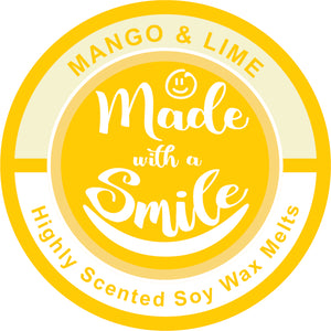 Mango and Lime Soy Wax Melt Pod - MadeWithaSmile