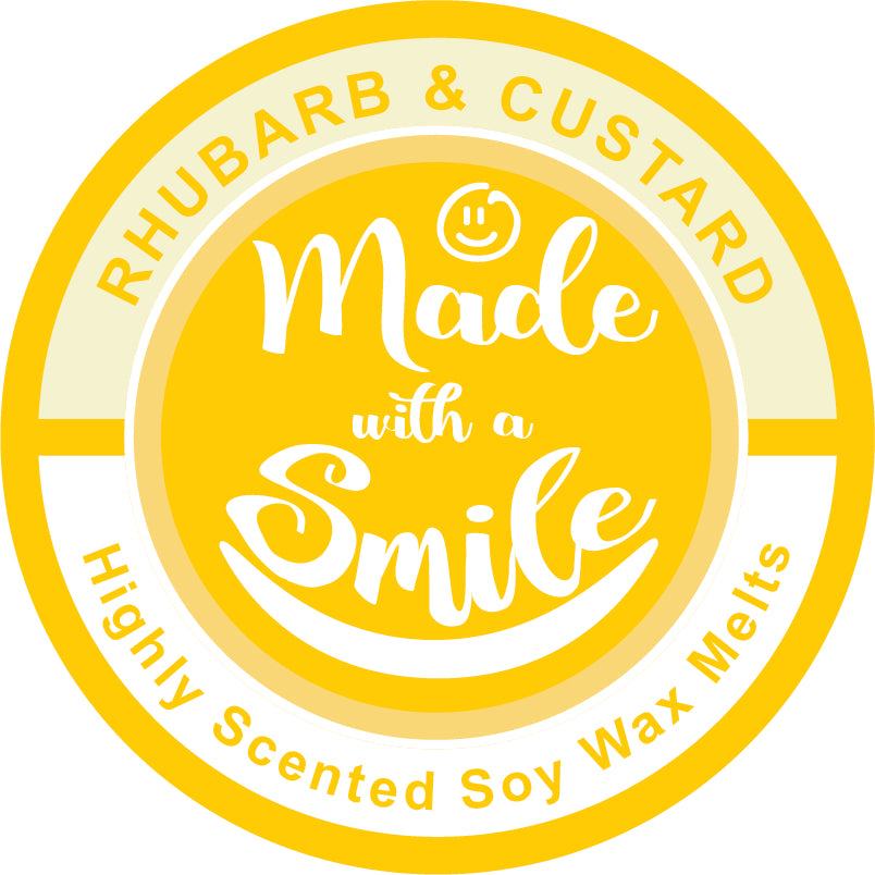 Rhubarb and Custard Soy Wax Melt Pod - MadeWithaSmile