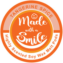 Load image into Gallery viewer, Tangerine Spice Soy Wax Melt Pod | MadeWithaSmile | UK