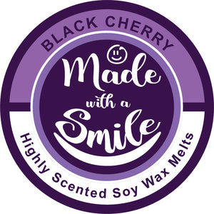 Black Cherry Soy Wax Melt Pod - MadeWithaSmile