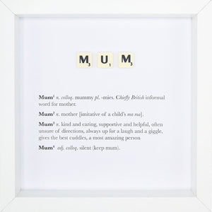 Mum - Definition - MadeWithaSmile