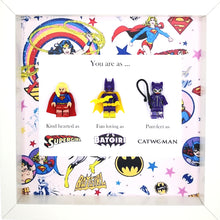 Load image into Gallery viewer, Supergirl, Batgirl & Catwoman - Superheroes Minifigures DC Comics | MadeWithaSmile