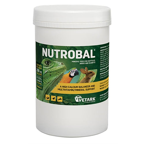 Vetark Nutrobal Calcium & Vitamin Powder - Littlehampton Exotics