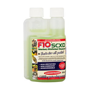 F10 SCXD Veterinary Cleanser 100ml - Littlehampton Exotics