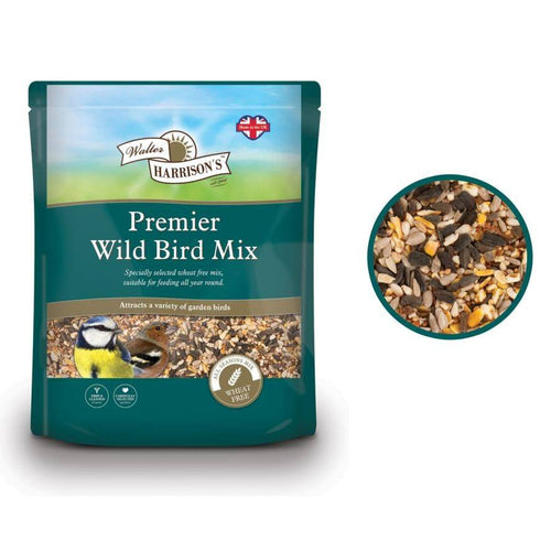 Walter Harrisons Premier Wild Bird Mix. - Littlehampton Exotics