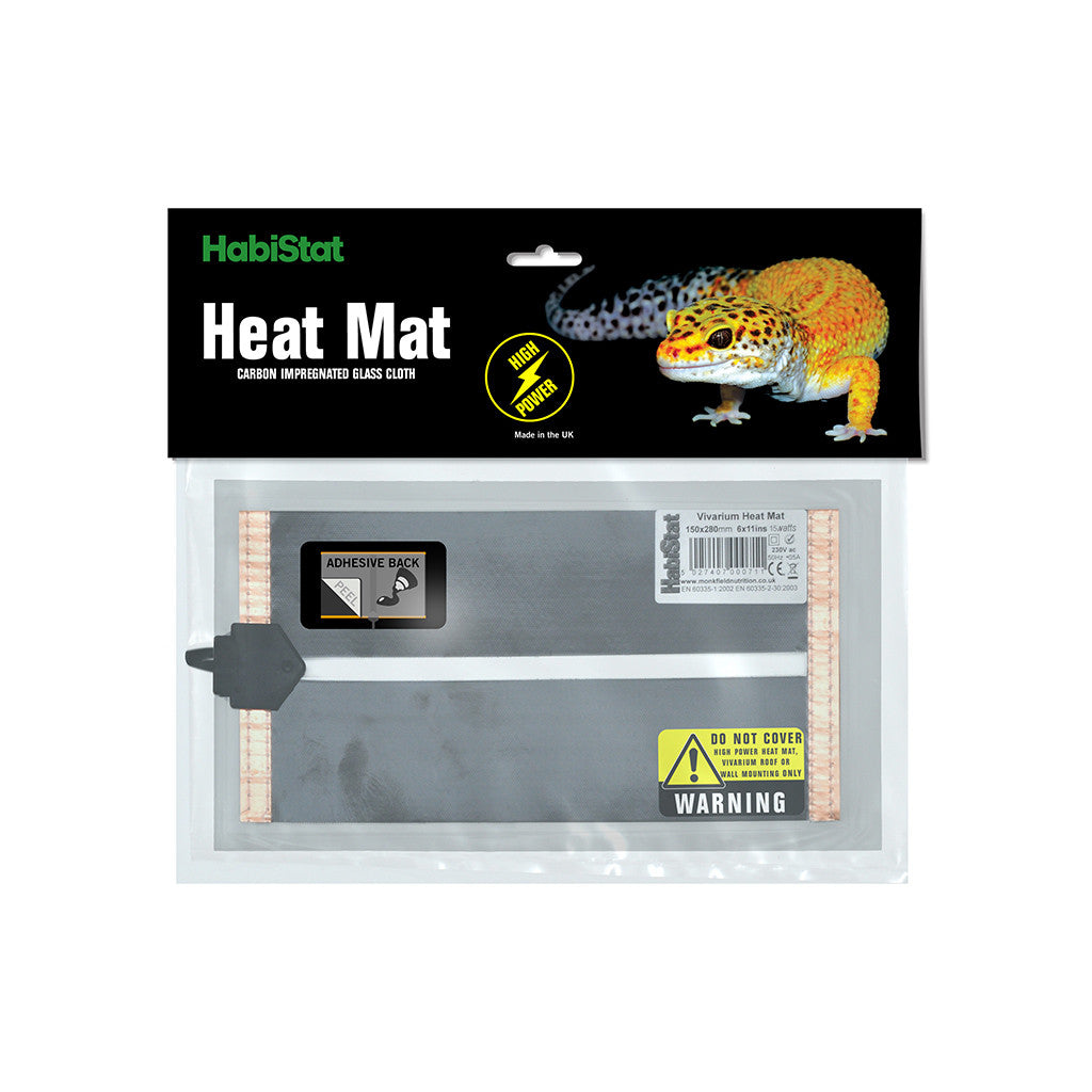 HabiStat High Power Mat, Adhesive - Littlehampton Exotics