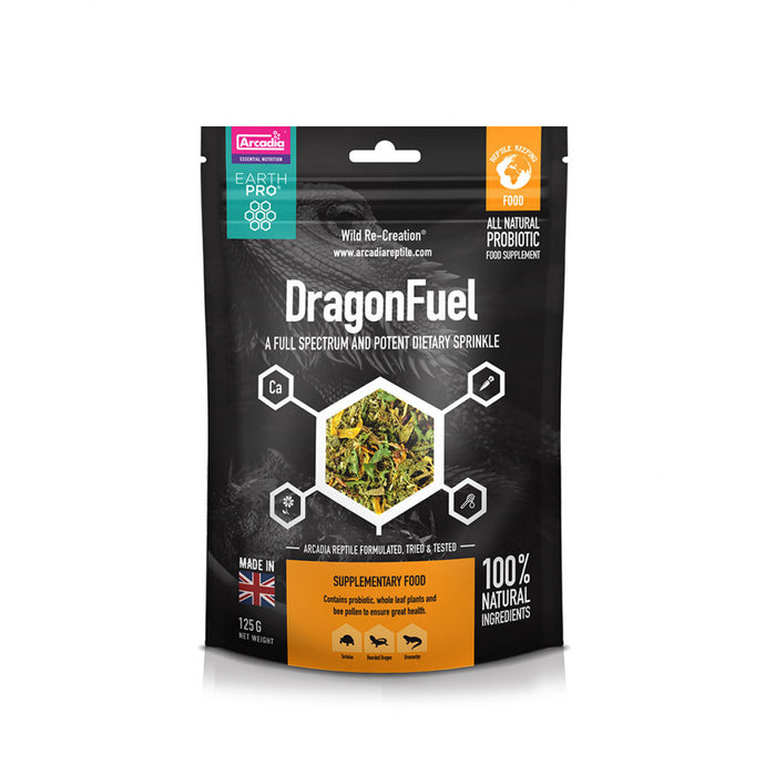 Arcadia Earth Pro Dragon Fuel, 125g - Littlehampton Exotics