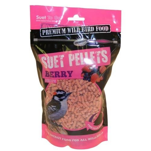 Suet to Go Berry Pellets - Littlehampton Exotics