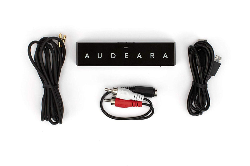 Audeara Wireless Noise Cancelling Headphones With Bluetooth Tranceiver Bundle