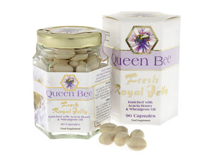 Queen-Bee-Fresh-Royal-Jelly-Capsules