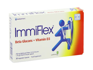 Immiflex Immune Supplment- 30's Vegetable Capsules