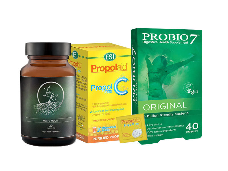 Men's Immunity Bundle RRP £55.47 ONLY £47.14