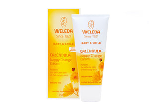 Calendula Nappy Change Cream 75ml - Weleda
