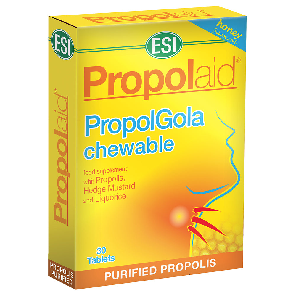 ESI Propolaid Propolgola Honey - 30 Chewable Tablets