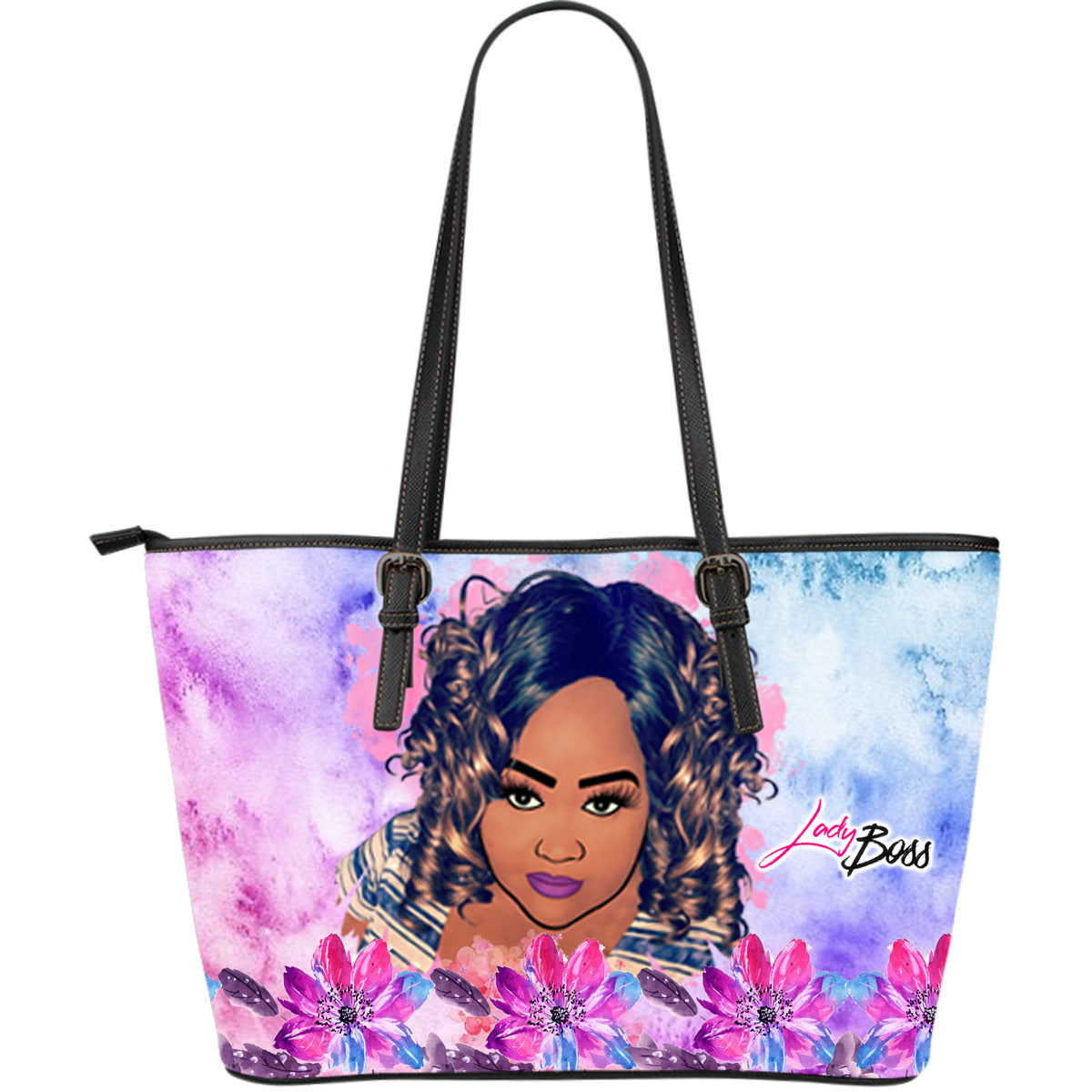 Abstract Colors Boss Lady Tote Bag