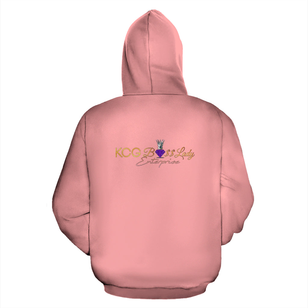 Boss Lady Wearing Sunglasses Hoodie