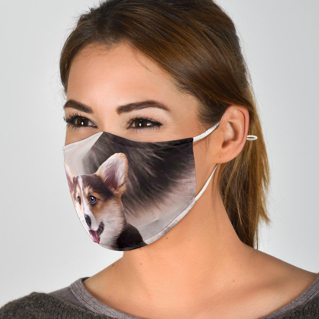 Cute Dog Face Mask